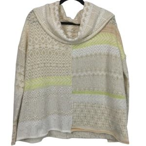 NWT Free People Cowl Neck Long Sleeve Sweater